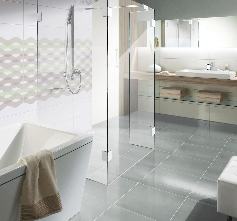ebenerdige duschwanne swalif. Black Bedroom Furniture Sets. Home Design Ideas